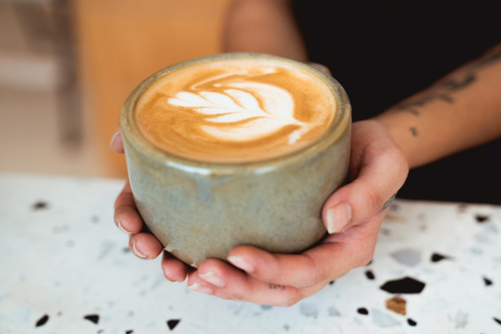 Drive-Through And Walk-Up, Coffee Without Order At The Bar